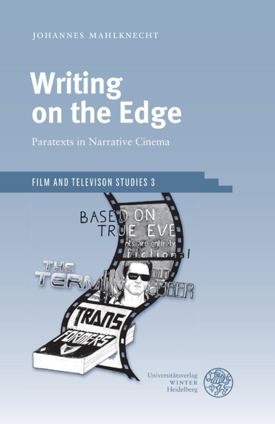 Writing on the Edge Umschlag